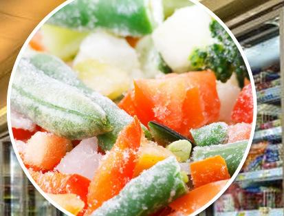 ข้อดีของการนำผักมาแช่แข็ง